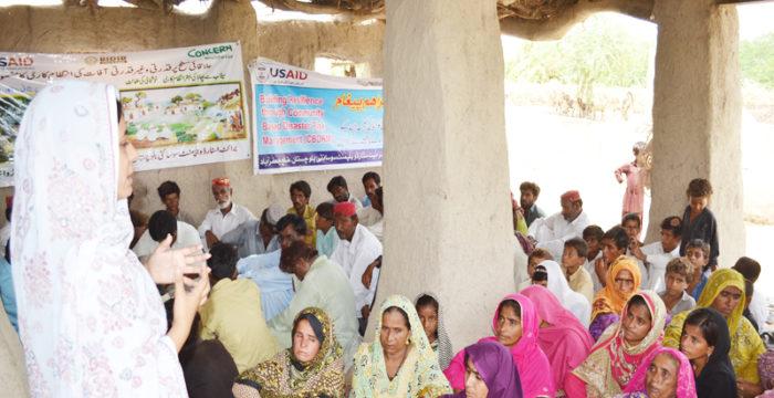 Community Based Disaster Risk Management Project District Jaffarabad / Naseerabad